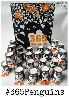 #365Penguins. We love 365 Penguins so have decided to have a penguin delivered to our door everyday throughout 2016. See how we make our 365 penguins.