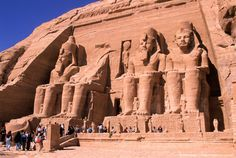 Egypt, Nile Valley, Abu Simbel temple, site listed by UNESCO