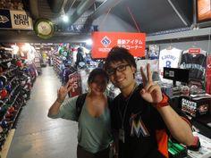 【新宿1号店】2014.07.23 アメリカからのお客様です☆またのご来店お待ちしております♪