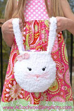 Pipsqueak Bunny Bag - Free Crochet Pattern