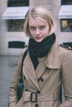 Nastya Kusakina after Roland Mouret Fall/Winter PFW Beautiful Girl Image, Beautiful Eyes, Pretty People, Beautiful People, Nastya Kusakina, Russian Models, Girls Image, Girl Face, Pretty Face