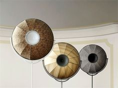 Fortuny lamps_ Pallucco Evergreen and everchanging with the choice of fabric for the lampshade and now even led bulbs. Lighting that makes a statement. Find it here: http://bissolihomecollection.co.uk/accessories/lamps/pallucc-fortuny-prints-fortuny-prints