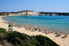 Gerakas beach. One of the many nesting beaches of the Caretta- Caretta sea turtle!