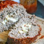 A moist tender meatloaf infused with the flavor of Jack Daniels, stuffed with melted pepper jack cheese, and slathered in a bold spicy sauce. Grilled Meatloaf, Cheese Stuffed Meatloaf, Meatloaf Recipes, Pellet Grill Recipes, Grilling Recipes, Creamy Macaroni And Cheese, Mac Cheese, Smoked Burgers, Deep Dish Pizza Recipe