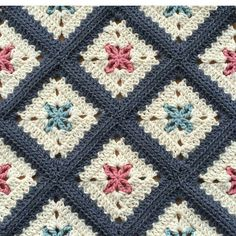 Transcendent Crochet a Solid Granny Square Ideas. Inconceivable Crochet a Solid Granny Square Ideas. Crochet Afghans, Crochet Quilt, Crochet Blocks, Afghan Crochet Patterns, Baby Blanket Crochet, Crochet Motif, Crochet Yarn, Crochet Stitches, Crochet Blankets