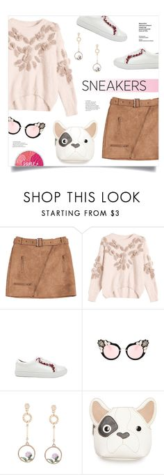 """So Fresh: White Sneakers"" by mahafromkailash ❤ liked on Polyvore featuring Kim Rogers"