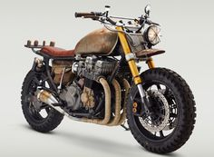 Daryl Dixon (Norman Reedus) from The Walking Dead has a new ride! A customized Honda CB750 Nighthawk