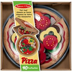 <div>Your little chef can choose from an array of colorful toppings and customize each slice of ...