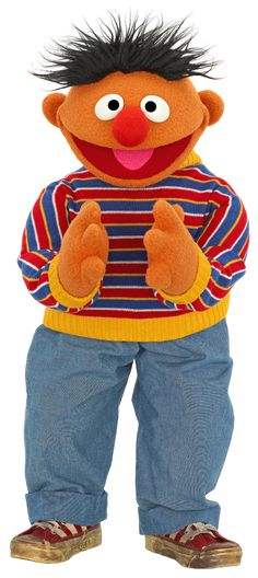Ernie+Clapping.png 536×1,200 pixels