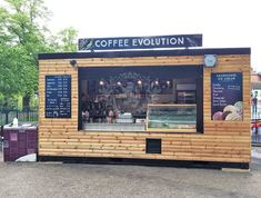 Cladded Ice Cream Catering Container Case Study | Lion Containers Ltd