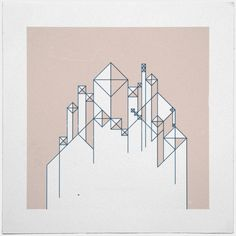 #345For here we have no lasting city, but we seek the city that is to come.– A new minimal geometric composition each day