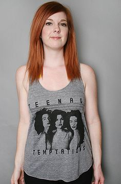 Teenage Temptations Tank Top by Burger and Friends