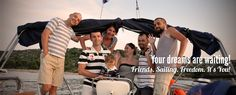 Friends. Sailing. Freedom  http://www.sailingpass.com/