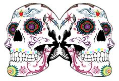 DAY OF THE DUD by Paul Baines. Very Impressive work. (I really want a DIA  DE MUERTOS skull tattoo!)