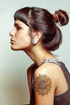 van gogh sunflowers tattoo - Google Search