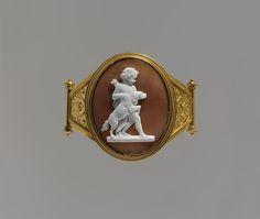 Luigi Saulini (Italian, 1819–1883). Cupid with a Dog, 1860-1870. The Metropolitan Museum of Art, New York. Bequest of Maria Morgan, 1892 (93.6.2)
