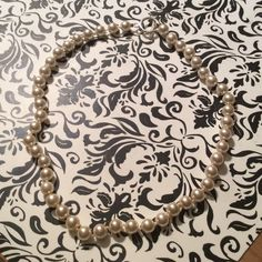 Pearl necklace Not real but perfect for wearing to a wedding Jewelry Necklaces