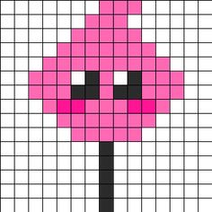 Cute Candyfloss bead pattern