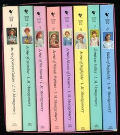 Don't let the old fashion look fool you, L.M. Montgomery is an excellent, refreshing author. I almost always have one of her books in the pile next to my bed.