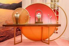 Signage Design, Booth Design, Commercial Design, Commercial Interiors, Window Design, Wall Design, Jewelry Store Design, Cannes, Boutique Interior