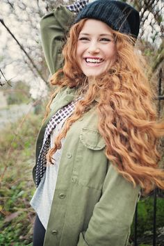by Leta🌷 Madelaine Petsch, Redhead Facts, Redhead Quotes, Redhead Hairstyles, Easy Hairstyles, Perms For Medium Hair, Merida, Natural Redhead, Gorgeous Redhead