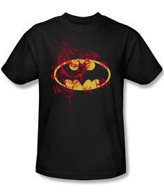BATMAN/JOKER GRAFFITI T Shirt | Comic T Shirts | Popfunk