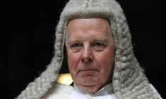 Lord chief justice says in annual report to parliament that one result is rise in number of litigants unrepresented in court
