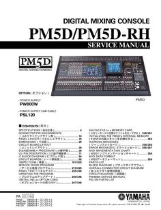 Service Manual - Yamaha PW800W - Mixer Technical Documentation, Short Messages, Page Number, I Am Happy, Yamaha, Mixer, Manual, Free, Im Happy