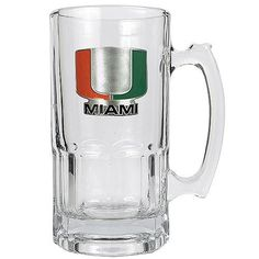 Great American Products Officially Licensed NCAA 1 Liter Macho Mug - Miami Hurricanes
