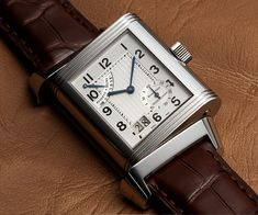 Jaeger Le-Coultre Reverso Grande Date 8 Day Reserve. My favorite from the Reverso series.