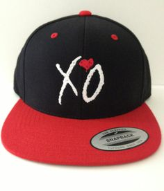 XO THE WEEKND snapback one size fits all by winteriscoming2012, $20.00