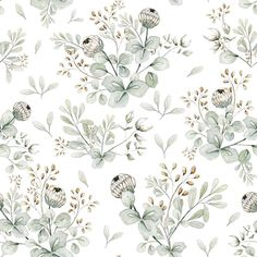 Dekornik Little Clovers Wallpaper - SAMPLE