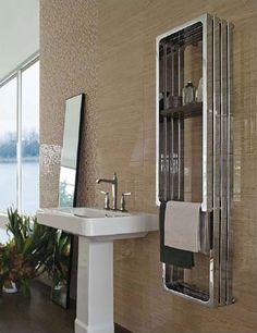 22 Esempi Di Termoarredo Bagno Dal Design Moderno E Originale Vertical Radiatorsbathroom