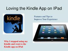 Good overview of how to use the Kindle app.