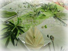 décoration de table mariage thème zen