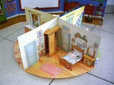 Pop Up Art, Victorian Paper Dolls, Vintage Paper Dolls, Paper Doll House, Paper Houses, Lego Friends, Casa Pop, Art For Kids, Crafts For Kids