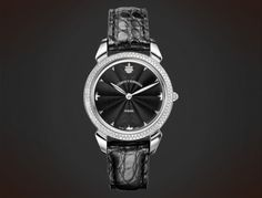 Diamonds black mother-of-Pearl, Lady, Historiador Lady Swiss Luxury Watches, Black Mother, Sport Watches, Crocodile, Lady, Sapphire, Gems, Pearls, Crystals