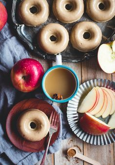 Baked Apple Cider Donuts Recipe. Amazing for fall!