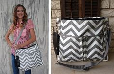 Double Chevron Print Diaper Bag off at Groopdealz Baby Necessities, Baby Essentials, My Beautiful Daughter, Mommy Style, Everything Baby, Baby Needs, Pink Love, My Baby Girl, Little Babies