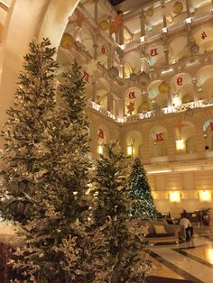 New York Palece Boscolo ön Christmas style