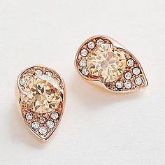 Graceful CS38 Naranja oro cristalino 18K Noble Eaegance (collar y aretes) Conjunto de joyas – MXN $ 236.57