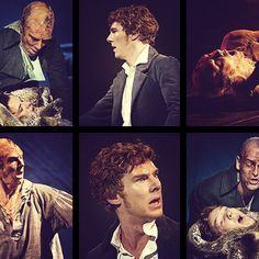 Frankenstein by Nick Dear based on the novel by Mary Shelly directed by Danny Boyle. With Johnny Lee Miller as The Creature, Benedict Cumberbatch as Victor Frankenstein Opens at The Olivier Theatre at The Royal National Theatre on on 22/2/11