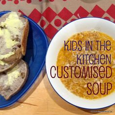 A great recipe for kids in the kitchen: customised vegetable soup where the kids decide the ingredients