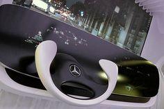 Mercedes-Benz DICE: Autocockpit der Zukunft
