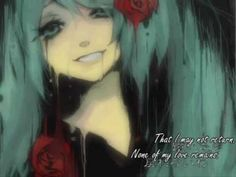 """""""Can't I Even Dream"""" Hatsune Miku song covered in English by Rockleetist."""