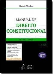 MANUAL DE DIREITO CONSTITUCIONAL VOL.UNICO