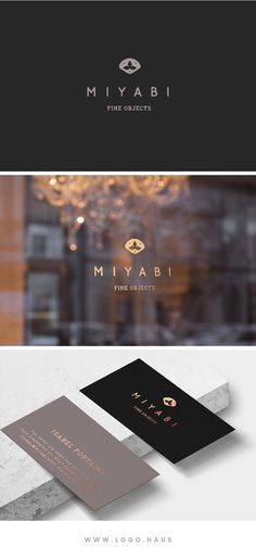 The Miyabi logo design kit has a clean and elegant design and the logomark is inspired by pattern motifs found in vintage Japanese prints.