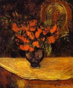 bouquet - (Paul Gauguin)