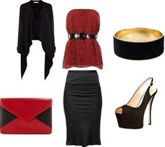 """Night On The Town"" by michelewr on Polyvore"