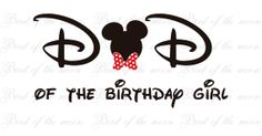 dad++of+Birthday+girl+2+Minnie+Mouse+Mickey+Mouse+by+birdofthemoon,+$4.00